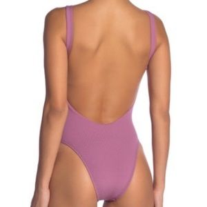 Vitamin A Swim - Vitamin A Ribbed One Piece Swimsuit size Large 10